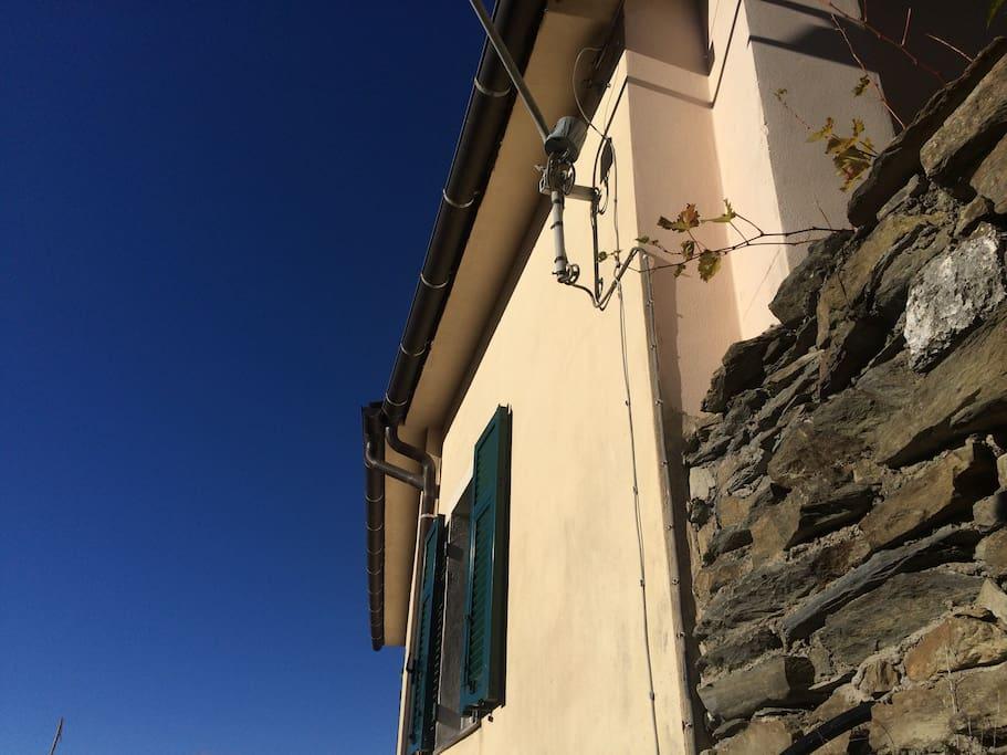 Casa Pastine: facade