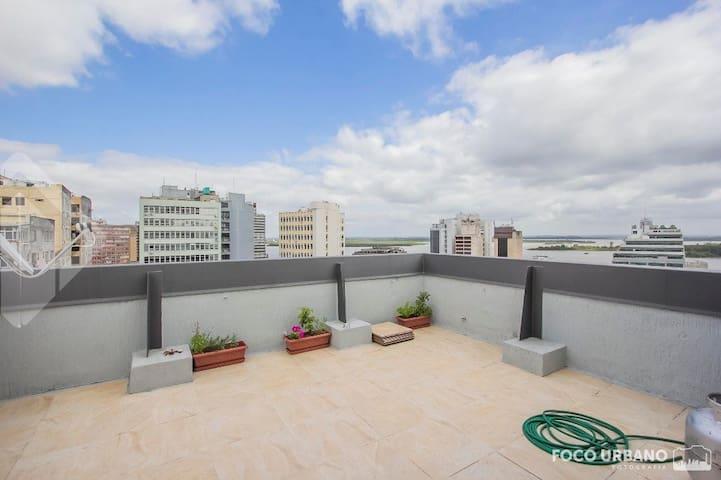Apto no centro de Porto Alegre para quatro - Porto Alegre - Appartement