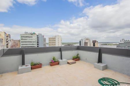 Apto no centro de Porto Alegre para quatro - 阿雷格里港 - 公寓