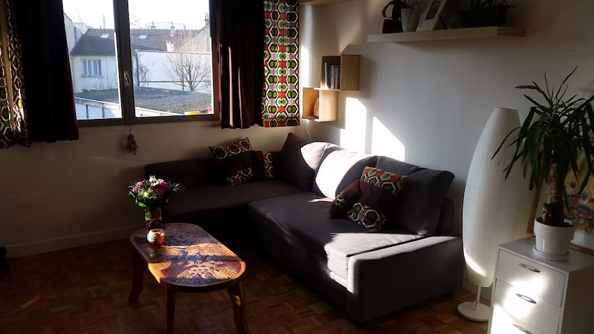 Studio Maisons Alfort - Maisons-Alfort - Apartament