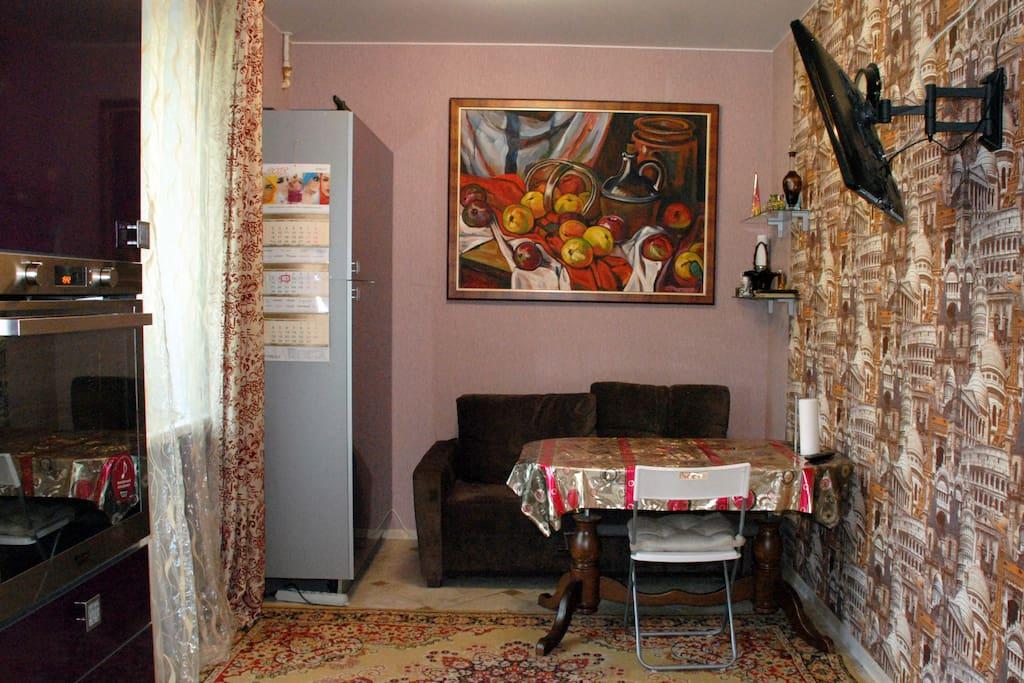 Кухня-столовая  Dining room