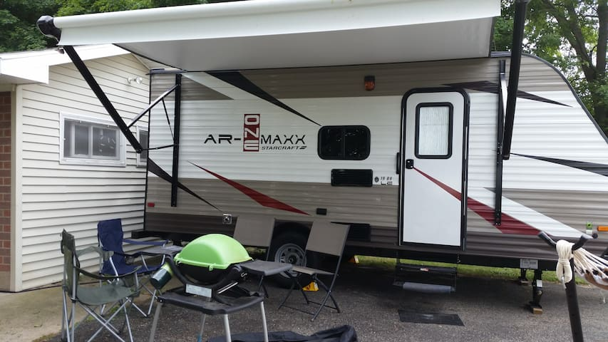 Cozy Fully Equipped Trailer Plymouth IN - Plymouth - Wóz Kempingowy/RV
