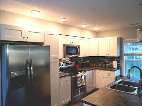 A Cozy Stay in Charleston WV Master Bedroom 1