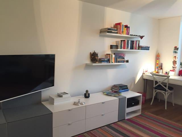 Ruhiges, gemuetliches Zimmer