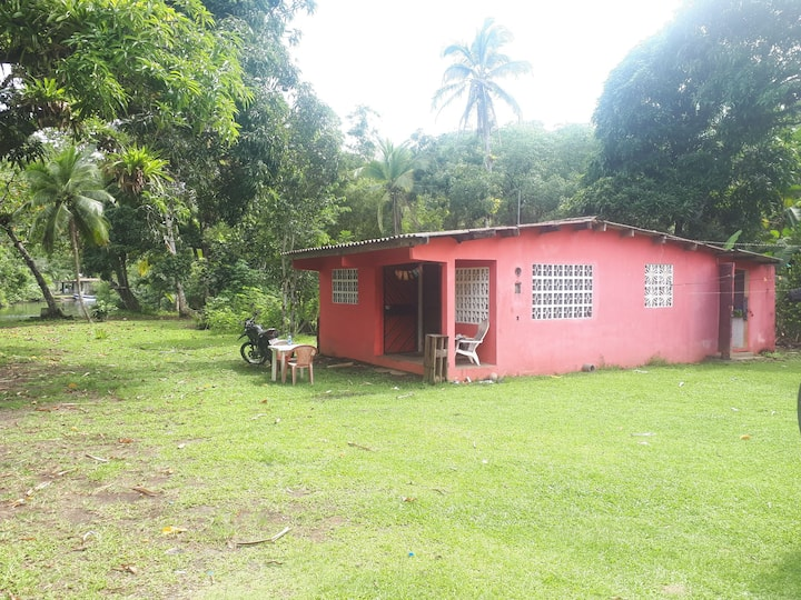 A Real Caribbean House: Close to Sea and a River