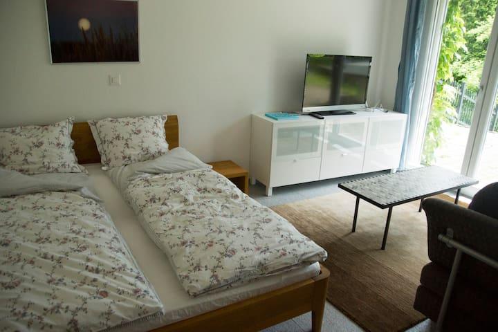 Schöne Einzimmer Wohnung mit Aussicht - Balsthal - Leilighet