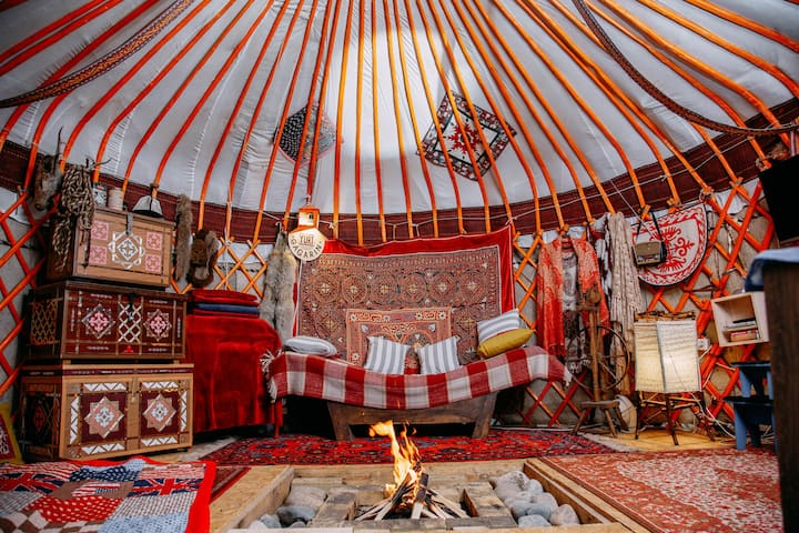 Nomadic Traditional Yurt 30 min from Almaty
