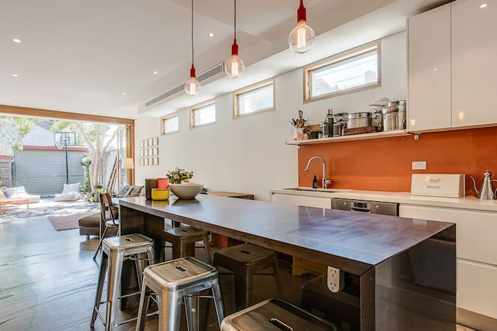 Hip 3-bedroom family home in trendy Newtown