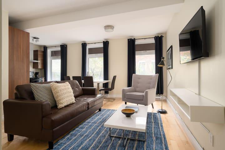 Sonder   Beaudry   Vibrant 1BR + Terrace