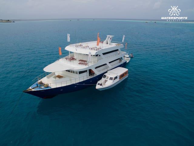 Explore Maldives on a Luxury Safari Boat  20 pax