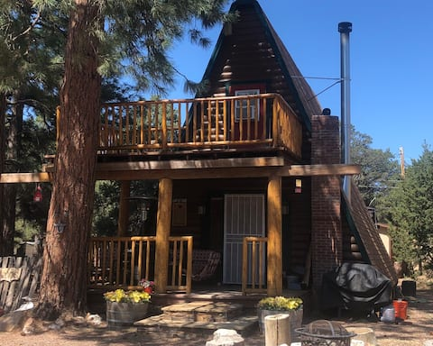 New! Rustic A-frame on 1/2 acre lot