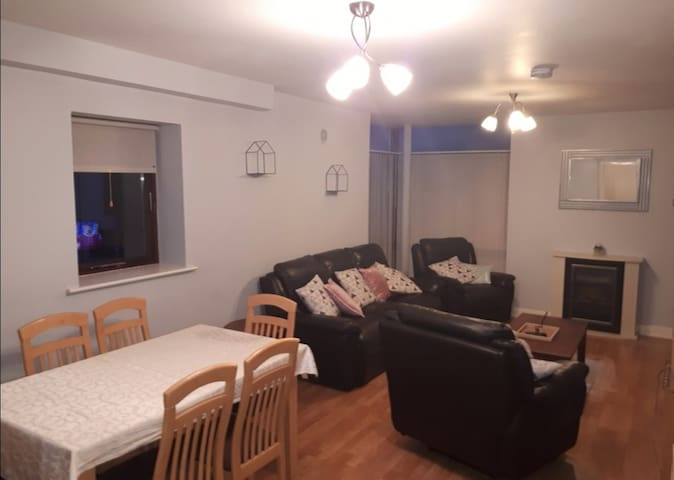 Convenient 3 bedroom apt. in the centre of Carrick