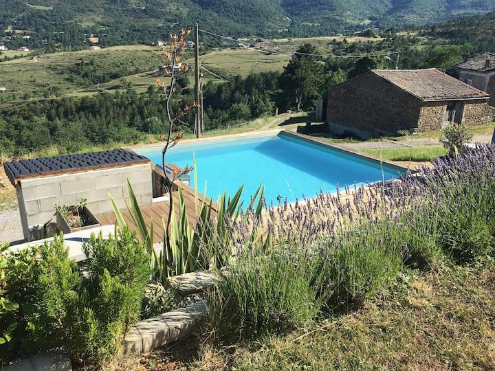 Villa contemporaine Le Piment Bleu