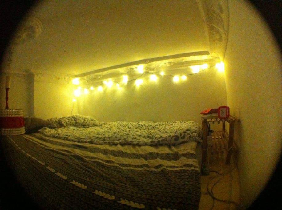 The big loft bed
