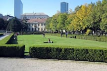 During nice sunny day you can enjoy nearby park called Medicka Zahrada