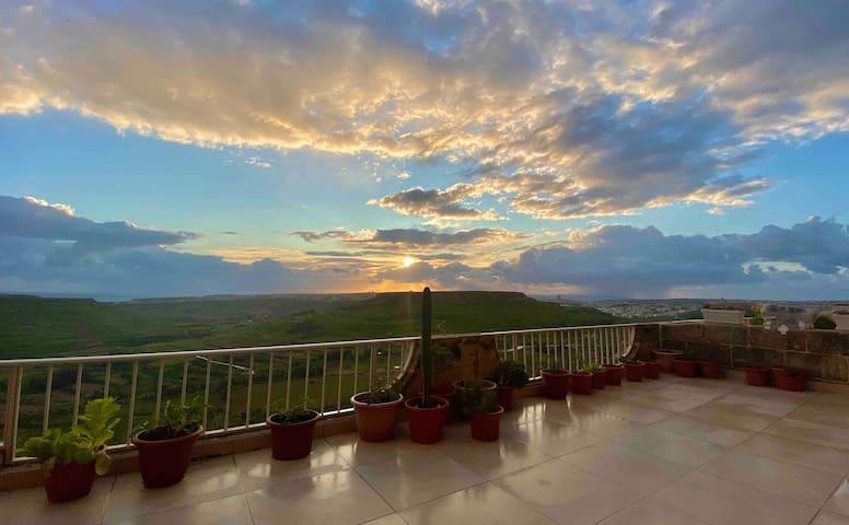 Panoramic Sunrise Sea View