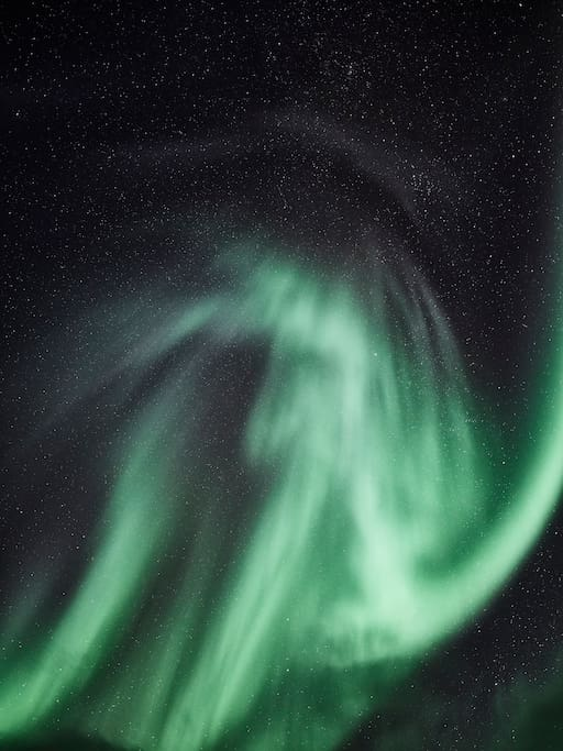 Kiruna is great place for Aurora watching and photography!