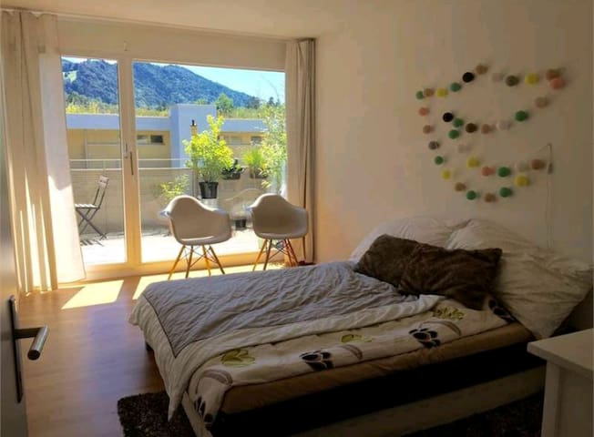 Private Room with terrace - Lucerna - Apartament