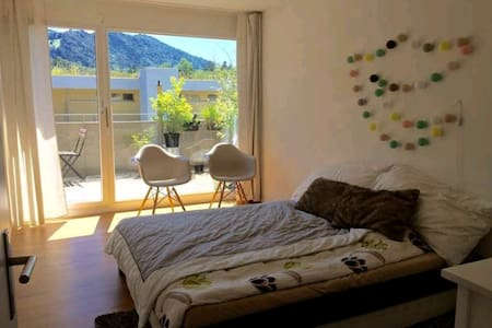 Private Room with terrace - Luzern