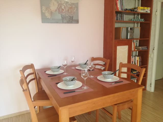 Comfortable family apartment in Prague for up to 8 people