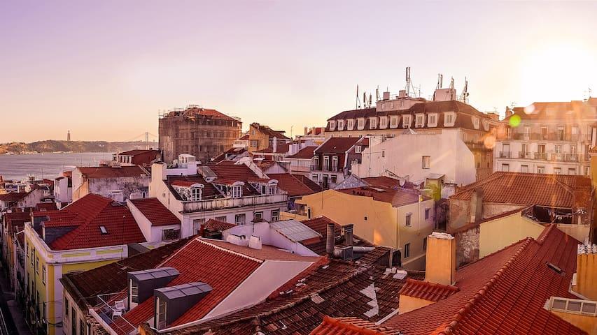 Um novo quarto no coração de Lisboa - Lisboa - Loft