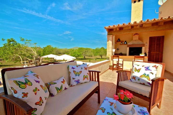 Wundervolle Terrasse mit Ausblick  im-web.de/ Mallorcareise SL