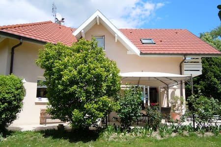 Nice house with garden and swimming pool - Chens-sur-Léman - Rumah