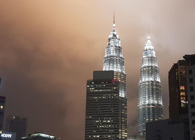 Twin Tower Views