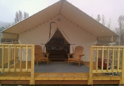 Glamping at the Gardens