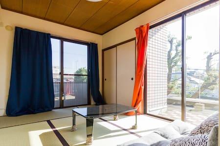 Shibuya 7 min - Modern Tatami Room - Setagaya-ku