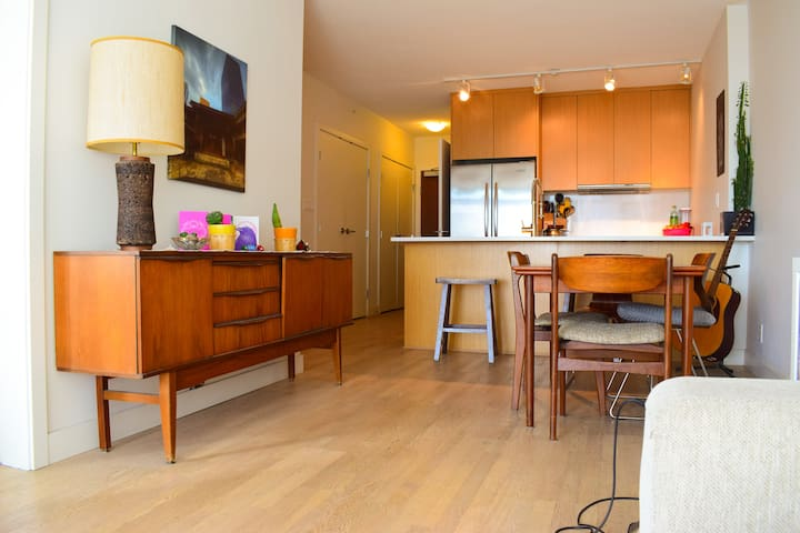 Modern and Spacious 1 bed Apartment
