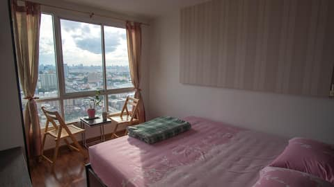 Free pick-up, Cozy room on High Floor