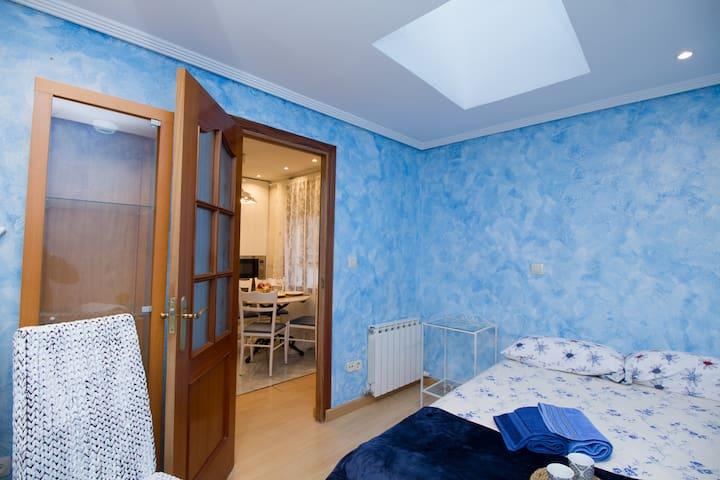Intimidad y calefacción en 2 dormitorios independientes - Privacy and heating in 2 separate bedrooms