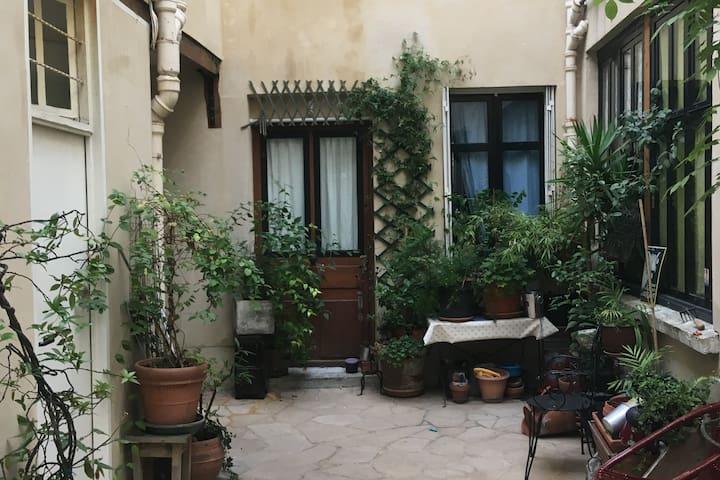 Cute Parisian Appartment near le Marais