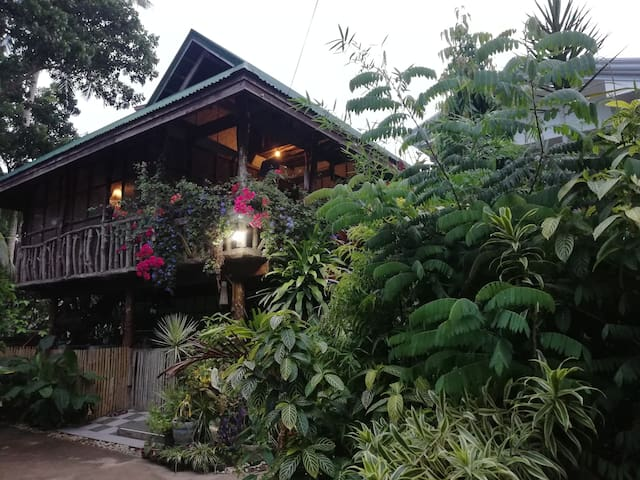 Tropical Casa Ligaya Rm1, aircon, 10 mns to Alona