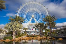 This is the International Drive in Orlando located only 15 miles from us filled with restaurants, bar and entertainment