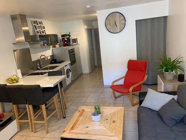 Appartement moderne au centre-ville de Vaison