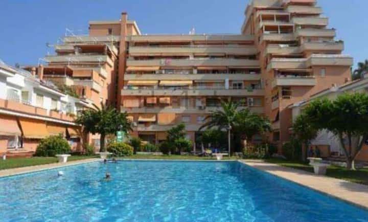 VERANO (JUN-AGO) Apartamento en la Playa de Gandia