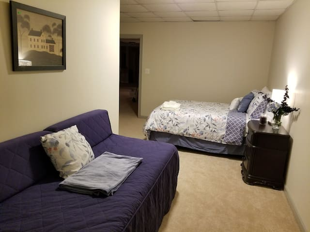 bedroom #8 has a trundle bed with 2 single beds if needed