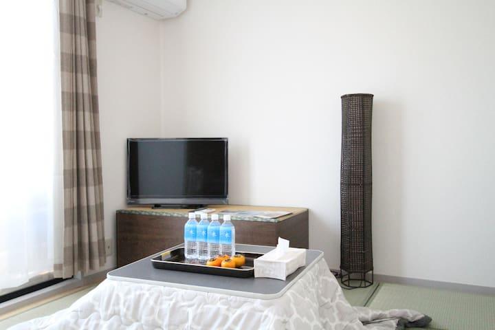 Private Room!Near KYOTO,BIWAKO,SKIING,FREE PARKING