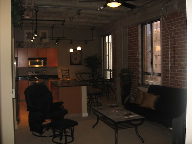 Downtown Orpheum Loft (30 day min stay)