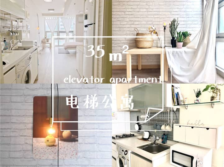 【Dongdaemun, Myeong-dong】东庙站10秒,带电梯的独立温馨公寓