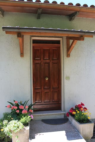 Apartment front door