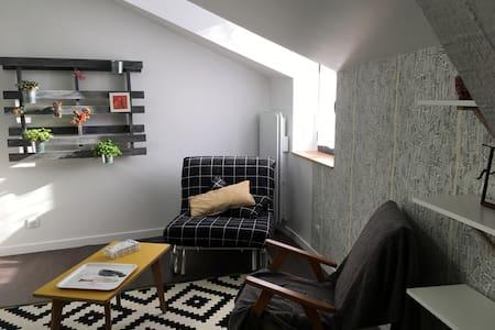 Appartement F1 bis 33m2 centre village calme - Aubière - Appartement