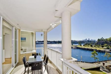 Sydney Waterfront Luxury Apartment; own bathroom - Pyrmont