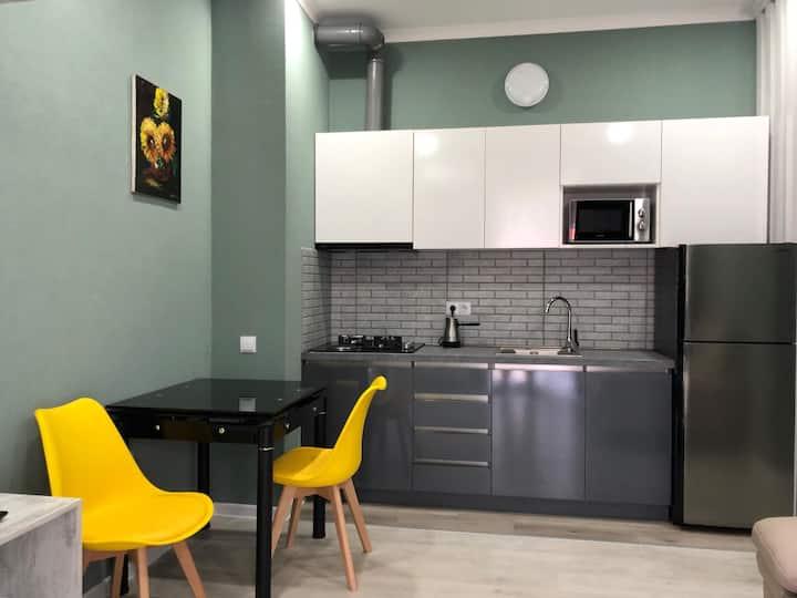Brand new apartment in European neighborhood