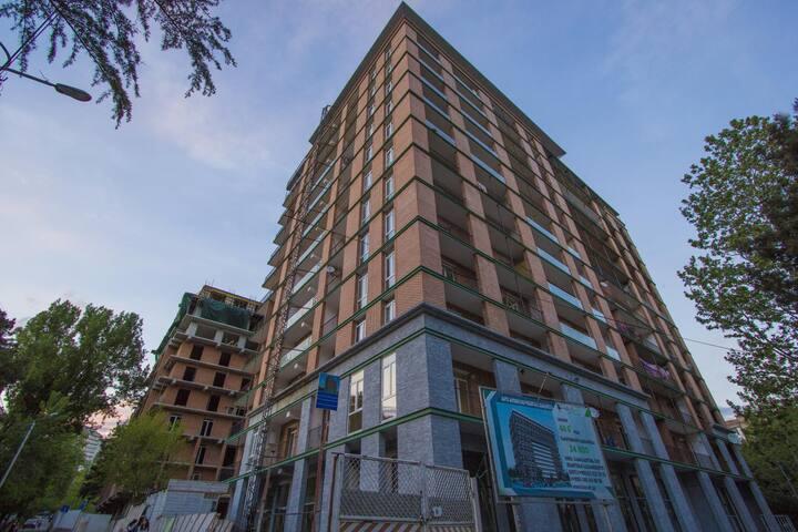 new apartment on vajapshavela avenue