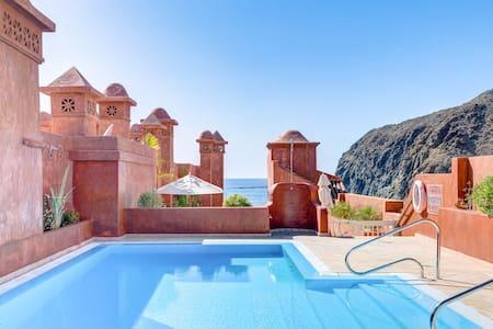 Luxus-Appartment m. Blick auf Meer und La Gomera - Palm-Mar