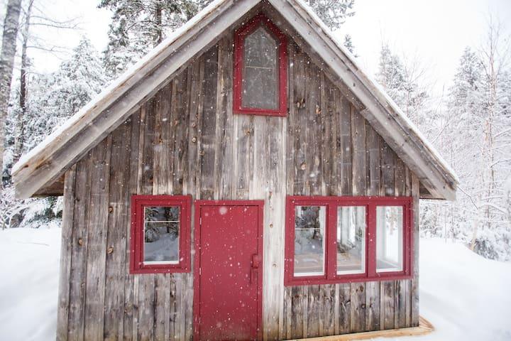 Tamarack Cabin at Windhorse Farm