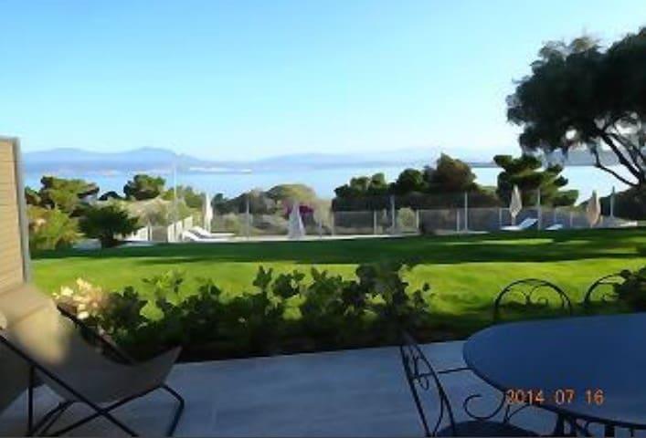 Appart F3 piscine vue mer Vignale 5 - Pietrosella - Pis